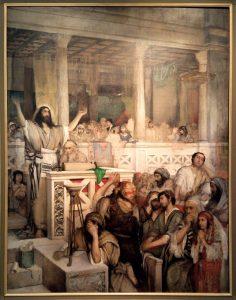 Maurycy Gottlieb - Christ Teaching in Capernaum