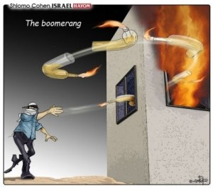 Israel Hayom cartoon 2015-08-02