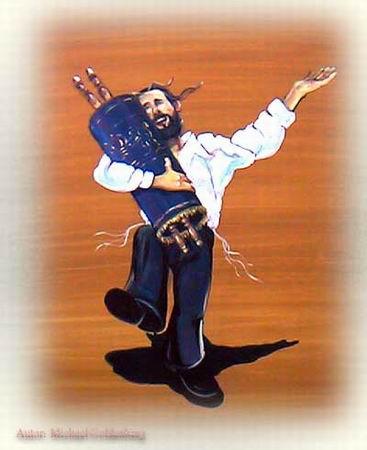 dansen met de Tora